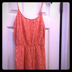 Old Navy - Coral Dress - size Medium